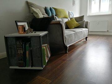Studio/Spaces: Upcyling Mobiliar- Möbel in neuer Form in einer kleinen Wohnung