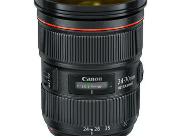 Rentals: Canon EF 24-70mm L Series f2.8 Lens
