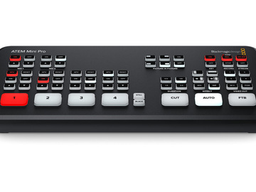 Rentals: Blackmagic ATEM Mini Pro