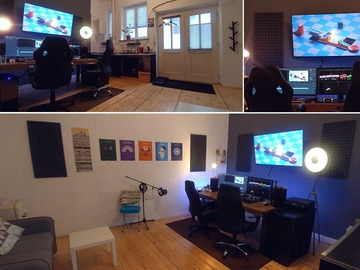 Studio/Spaces: Cosy 4K/UHD Editing and Creative Working Studio