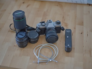 Rentals: Fujica AX-1 + Lenses and accessories