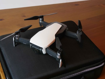Rentals: DJI Mavic Air 4K with extras. Pilot services available.