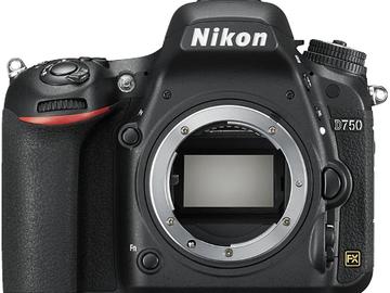 Rentals: Nikon D750 Gehäuse