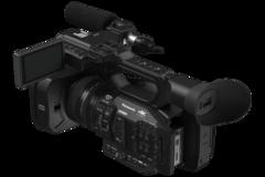 Rentals: Panasonic AG-UX180, 20-fach optischem Zoom, 24 mm Weitwinkel