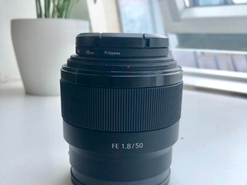Rentals: Sony 50mm F1.8 Full Frame E Mount Lens