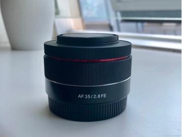 Rentals: Samyang 35mm F2.8 Full Frame Sony E-Mount Lens