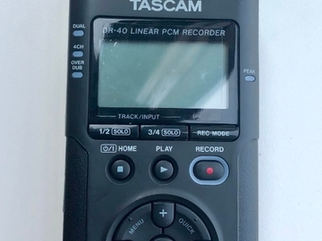 Rentals: TASCAM DR-40 4-Channel Pro Audio Recorder