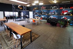 Studio/Spaces: Workshop & event space in Motorcycle Community Garage
