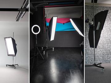 Studio / Räumlichkeiten: Fotostudio alles inkl. Lichttechnik, Wlan, 450qm 14 Hintergründe