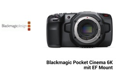 Rentals: Blackmagic Pocket Cinema Camera 6K