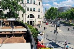 Studio/Spaces: Terrasse direkt am Ku'damm mit Blick auf die Gedächtniskirche