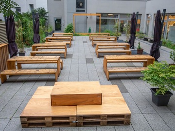 Studio/Spaces: Courtyard & Biergarten