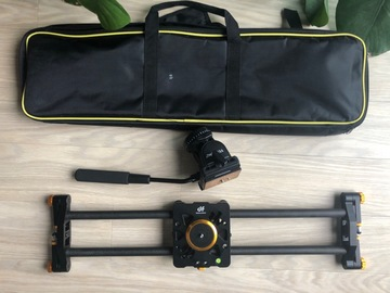 Rentals: DF slider + fluid video head