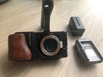 Rentals: Blackmagic pocket cinema camera with external battery
