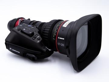 Rentals: Canon CN 17x7 KAS S / P1 (17-120mm) Cabrio Zoom (PL-Mount)