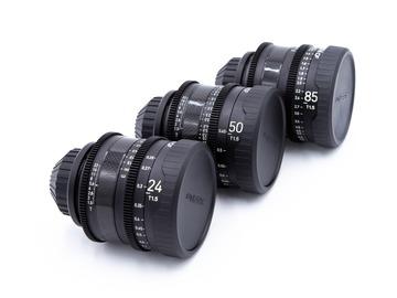 Rentals: XEEN Cine Primes 24/50/85 MM Set