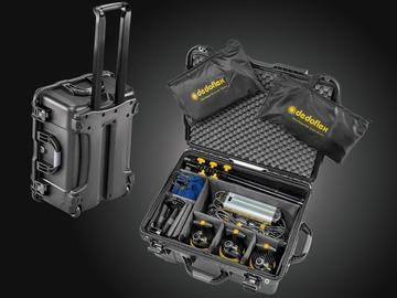 Rentals: 3 Lights Kit | 90w Bi-Color DLED7-BI Turbo Focusing LED Lights