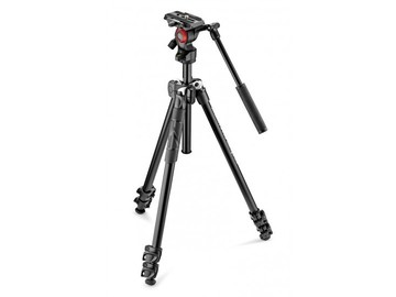 Rentals: Manfrotto 290 Light Tripod + Befree Live Fluid Head