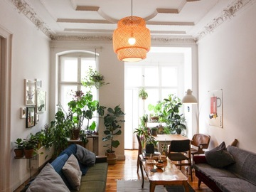 Studio / Räumlichkeiten: Plant filled Altbau apartment