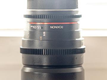 Rentals: Rokinon 24mm/T1.5 Cine EF Mount