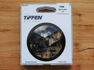 Rentals: Tiffen Black Pro Mist 1/4 77mm Filter