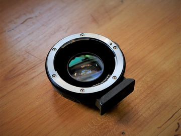 Rentals: Metabones Speedbooster ULTRA 0,71x - Canon EF auf MFT