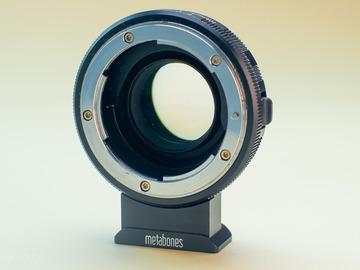 Rentals: Speedbooster MFT-Nikon F