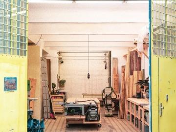 Studio / Räumlichkeiten: Werkstatt für Designermöbel