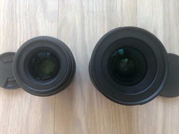 Rentals: Sigma 16mm + Sigma 30mm f1.4 DC DN for Sony E-mount