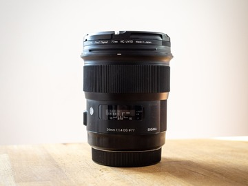 Sell: Sigma ART 24mm F1.4 DG HSM - EF Mount