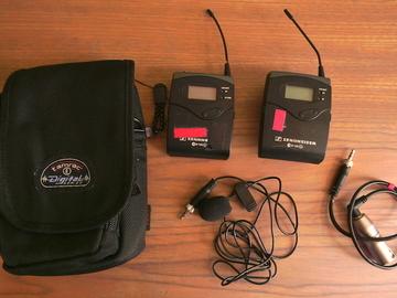 Rentals: Senneheiser ew100 G2 wireless mic set
