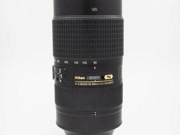 Rentals: Nikon 80-400mm AF-S Nikkor f4.5-5.6G ED VR Zoom Telephoto Lens