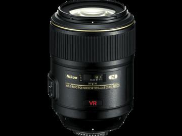 Rentals: NIKON AF-S Micro NIKKOR 105mm 1:2,8G VR f/2.8 AF-S, ED