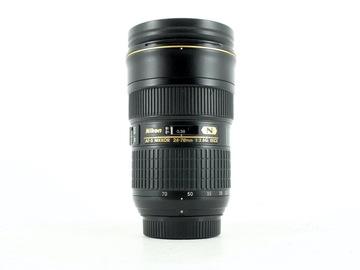 Rentals: Nikon AF-S NIKKOR 24-70mm F2.8 E ED VR