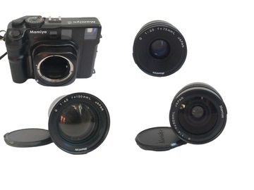 Rentals: Mamiya 6 + 3 lenses: 50 mm, 75 mm, 150 mm, analogue medium format