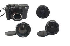 Rentals: Mamiya 6 + 3 lenses: 50 mm, 75 mm, 150 mm, analogue medium format