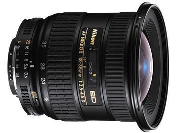 Rentals: Wide Angle Lens - AF Nikkor 18-35mm 1:3.5-4.5 D