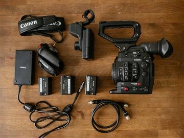 Rentals: Canon EOS C300 Mark II