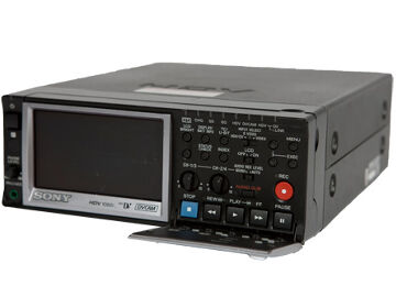 Rentals: Sony HVR-M10 HDV-Rekorder mit Display
