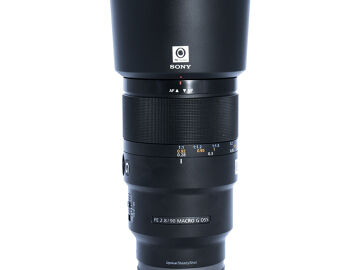 Rentals: Sony E 90mm f/2.8 FE Macro G OSS
