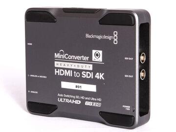 Rentals: Blackmagic HDMI > SDI 4K Converter