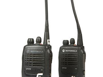 Rentals: Motorola GP340 - 2x Set