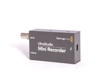 Rentals: Blackmagic Ultra Studio Mini Recorder