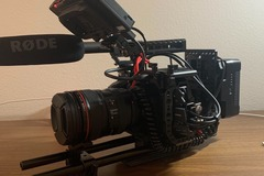 Rentals: Blackmagic Pocket Cinema Camera shooting kit with Canon EF 24-105