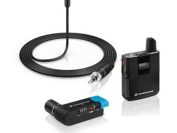 Rentals: Sennheiser AVX MKE2 radio mics