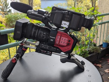 Rentals: Panasonic DVX 200, c/w Shape shoulder mount & HD Small sidefinder