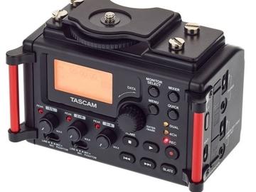 Vermieten: Field Recorder Tascam DR-60D MrkII