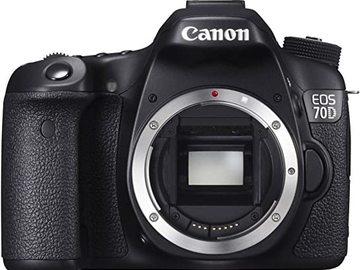 Rentals: Canon 70D
