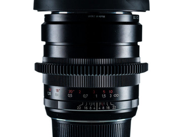 Rentals: Zeiss ZF.2 35mm f/2.0 Distagon CINE MOD (by DUCLOS)