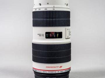 Rentals: Canon Zoomobjektiv EF USM II 70-200mm, f 2.8